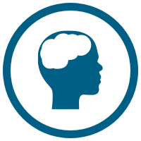 Brain tumor icon