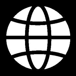 Globe and World icon