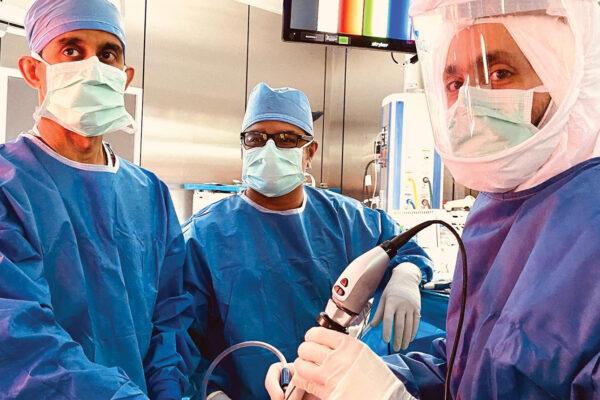 Q&A with alumnus Vyas, new Neurosurgery division chief at Inova
